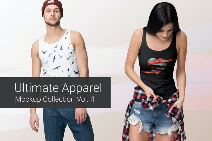 Thumbnail for Ultimate Apparel Mockup Vol. 4