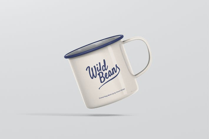 Thumbnail for Enamel Mug Mockup