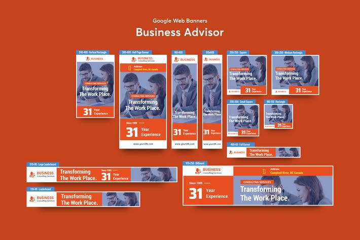 Thumbnail for Business Advisor Banners Ad
