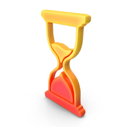 Logo Clock Sand Glass