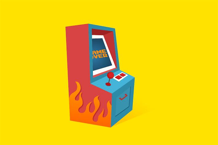 Thumbnail for Arcade-Spiel Maschine