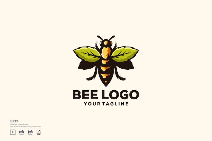 Thumbnail for Bee Logo Design