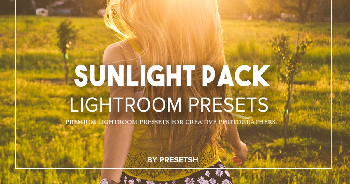 Download Sunlight Lightroom Presets by Presetsh