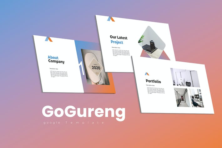 Thumbnail for GoGureng  Google Slides