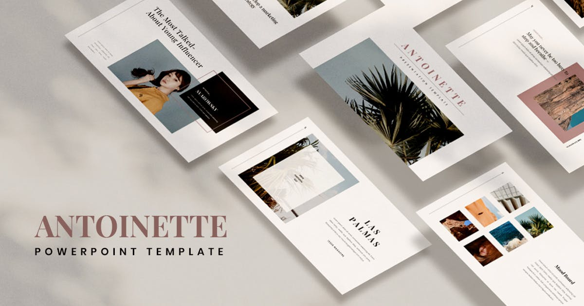 Antoinette Powerpoint by VisualColony