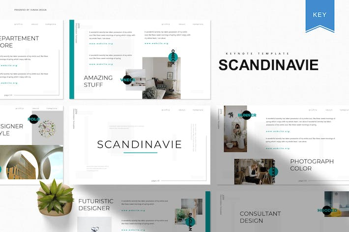 Thumbnail for Scandinavie | Keynote Template