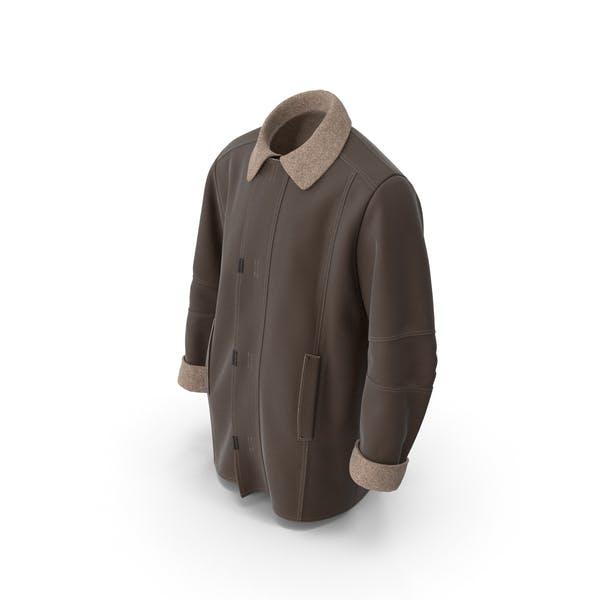 Thumbnail for Men's Coat Brown