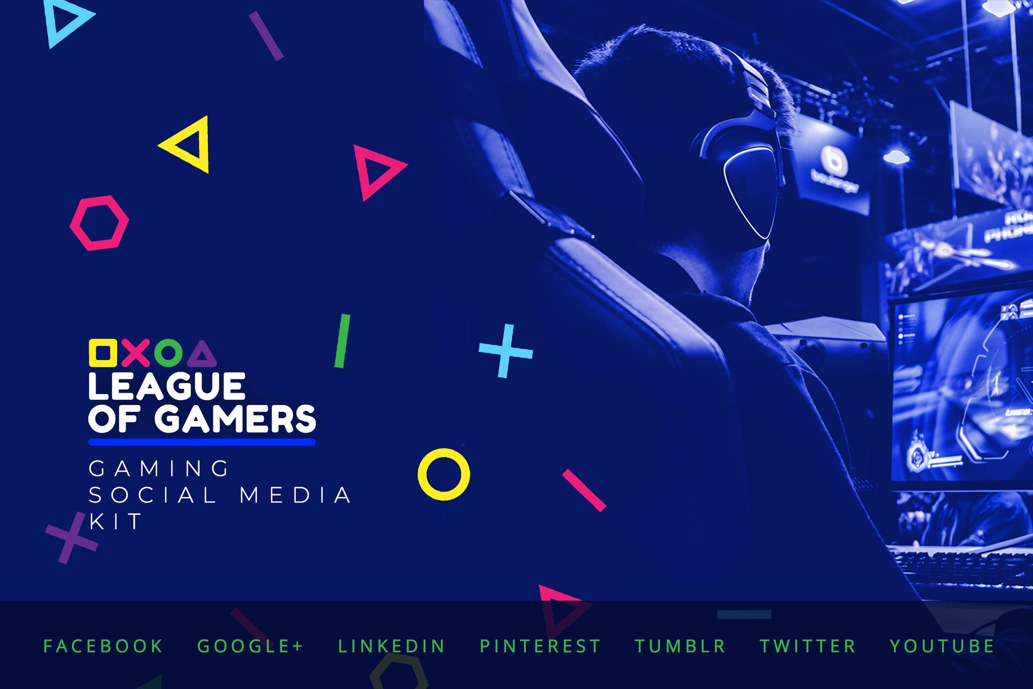 Gaming Community – Social Media Kit by merkulove on Envato Elements