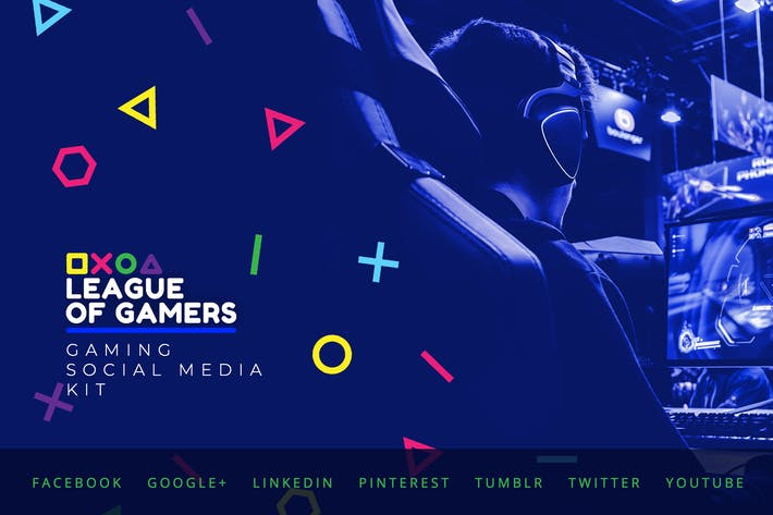 Thumbnail for Gaming Community – Social Media Kit