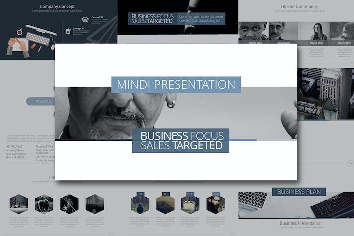 Thumbnail for Mindi Powerpoint Template