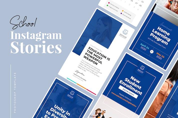 Thumbnail for School Instagram Stories