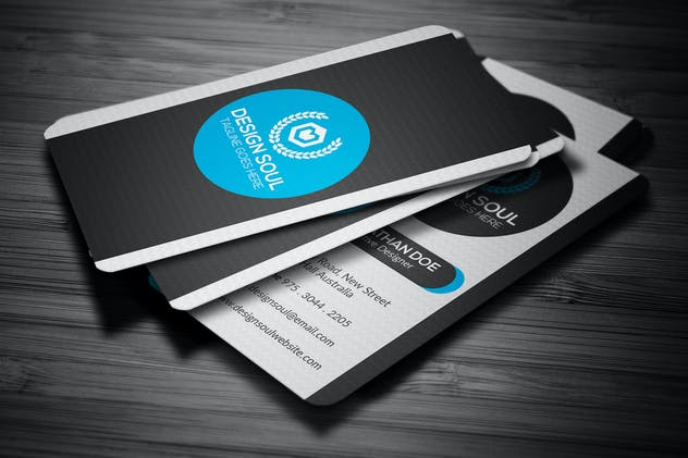 Corporate business card by designsoul14 on envato elements reheart Choice Image