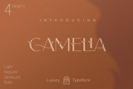 Camelia Sans - Unique Florist Typeface