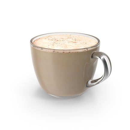 Kaffeetasse Kleines Glas Mit Milch