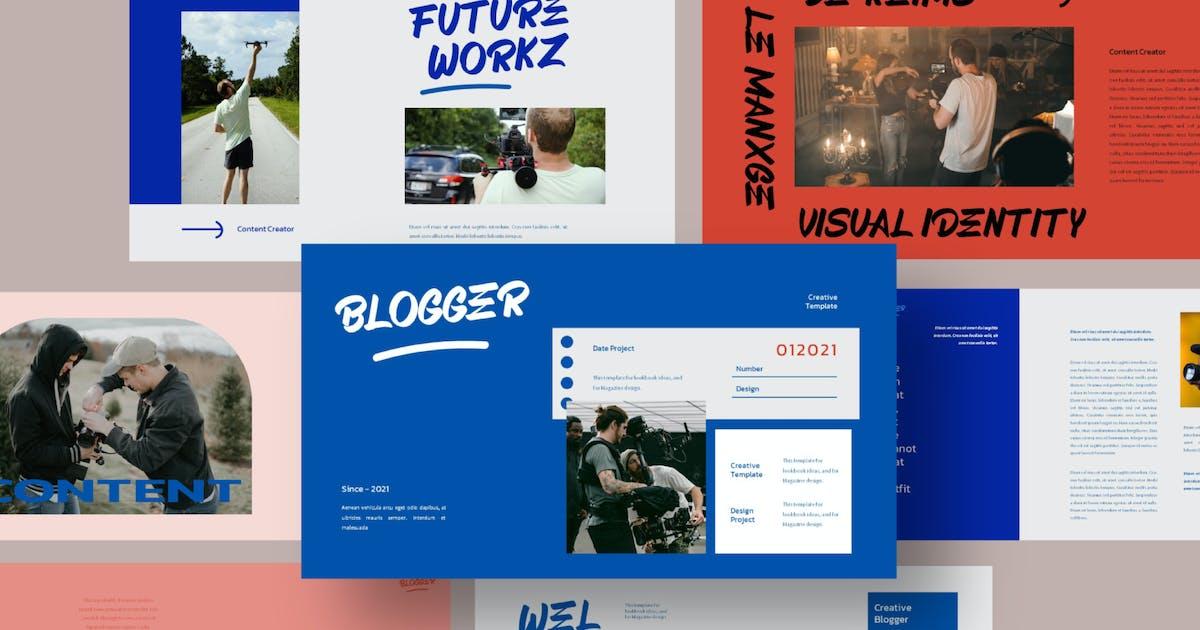 Download Blogger Keynote Template by axelartstudio