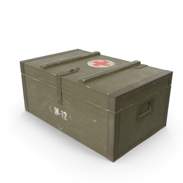 Армейский медицинский ящик