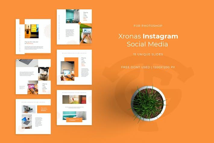 Xronas - Instagram Feed