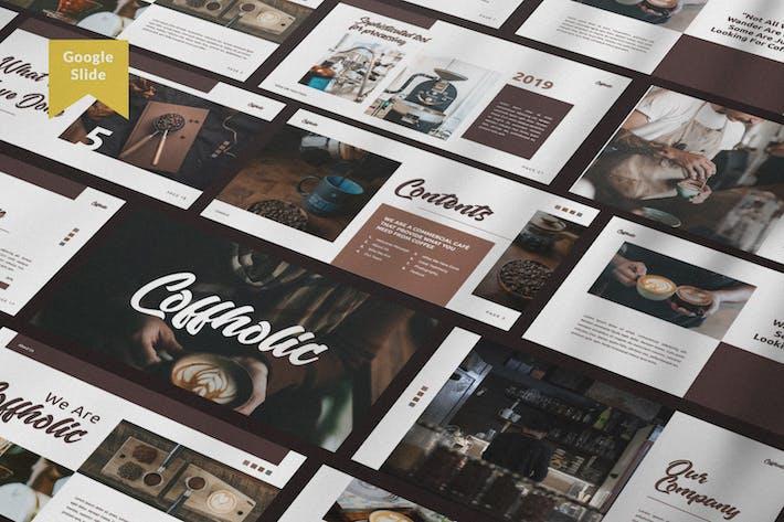 Thumbnail for Coffholic Brand Coffee Google Slide