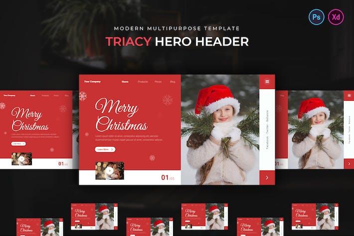 Triacy Hero Header