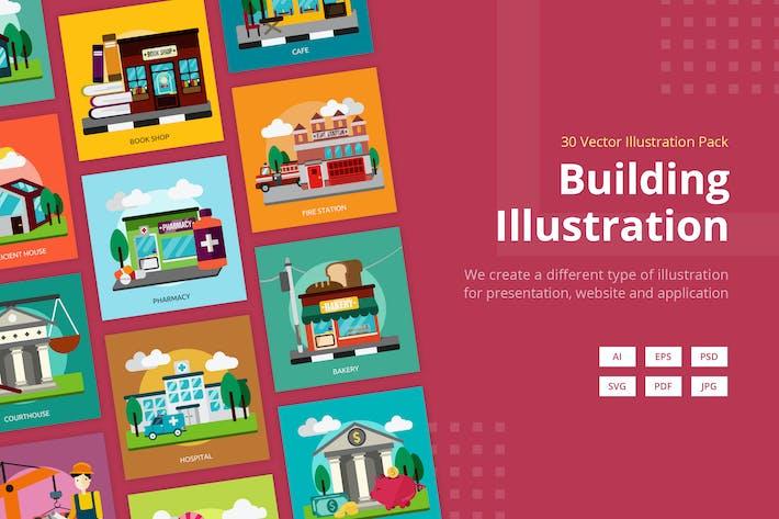 Thumbnail for GebäudeVektor illustration