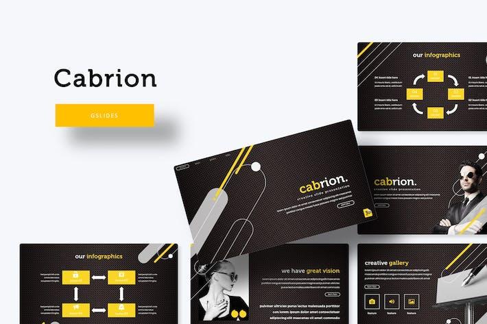 Cabrion - Google Slide Template