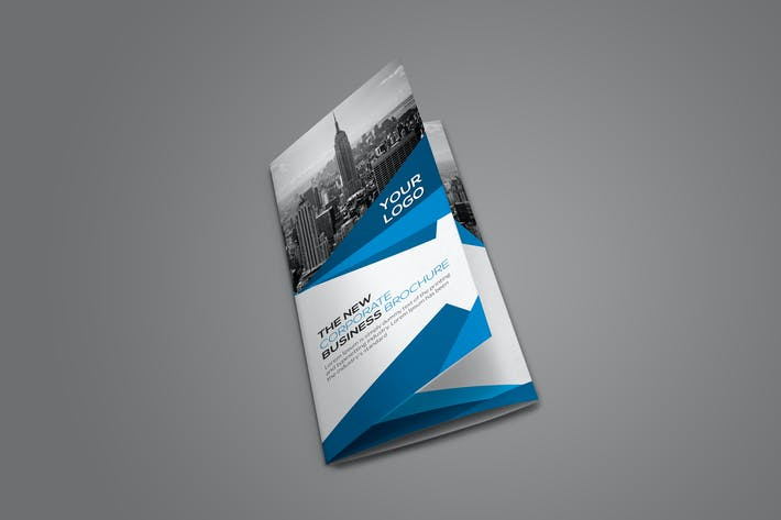 Thumbnail for Corporate Trifold Brochure