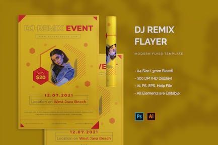 DJ Remix - Flyer