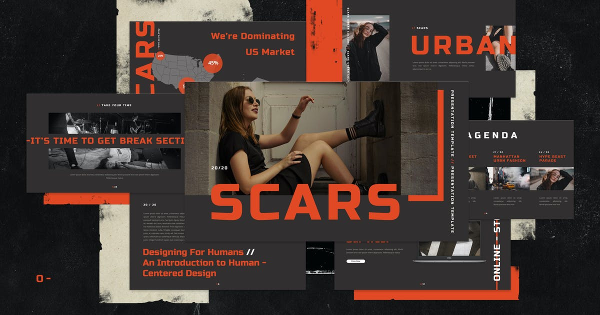 Download Scars Keynote by VisualColony