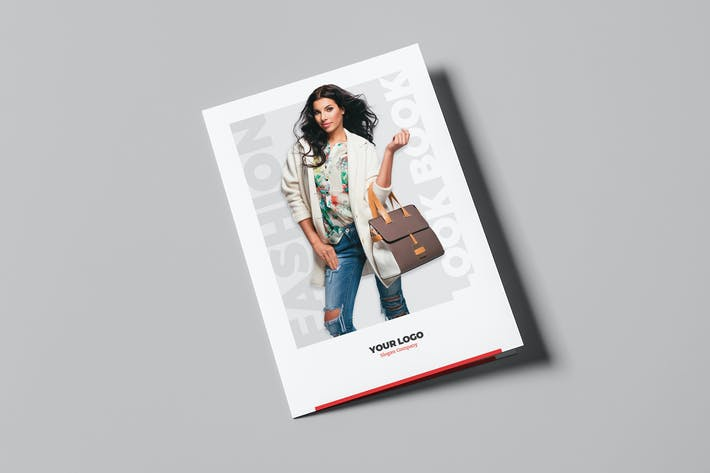 Cover Image For Brochure – Fashion Look Book Bi-Fold