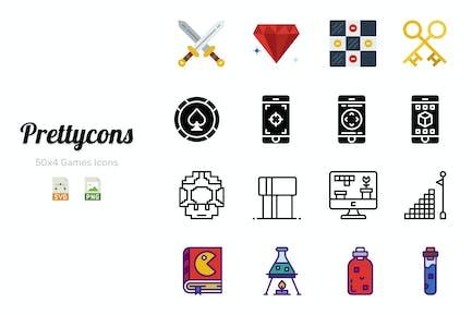 Prettycons - 200 Games Icons Vol.1
