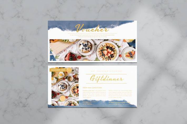 Thumbnail for Dinner Voucher