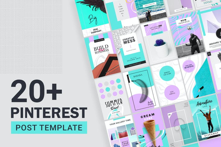 Thumbnail for Pinterest Post Templates