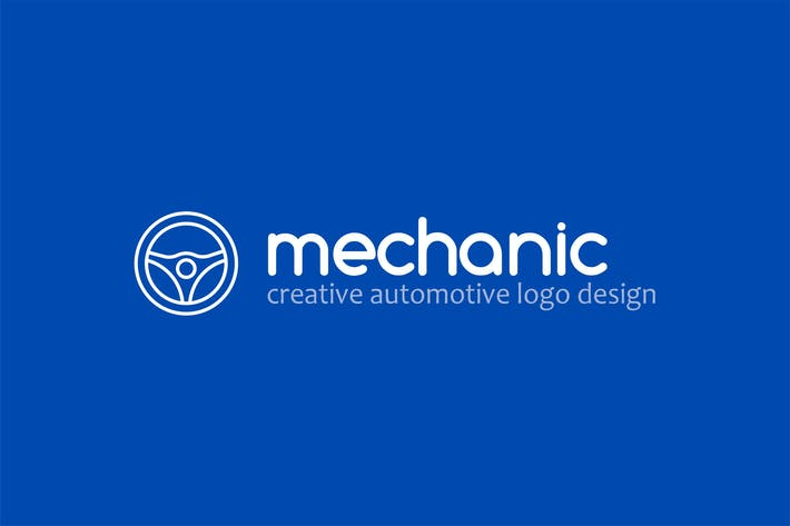 Thumbnail for Mechanic - Automotive Logo Template