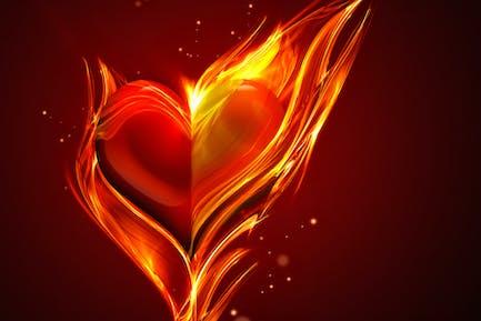 Herz brennt