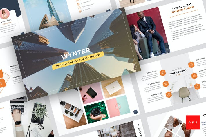 Thumbnail for Wynter - Business PowerPoint Template