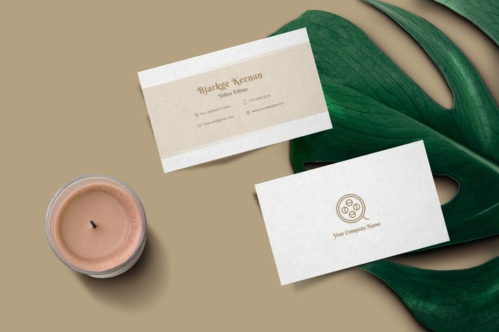 Thumbnail for Corporate Business Card Typica Vol.04