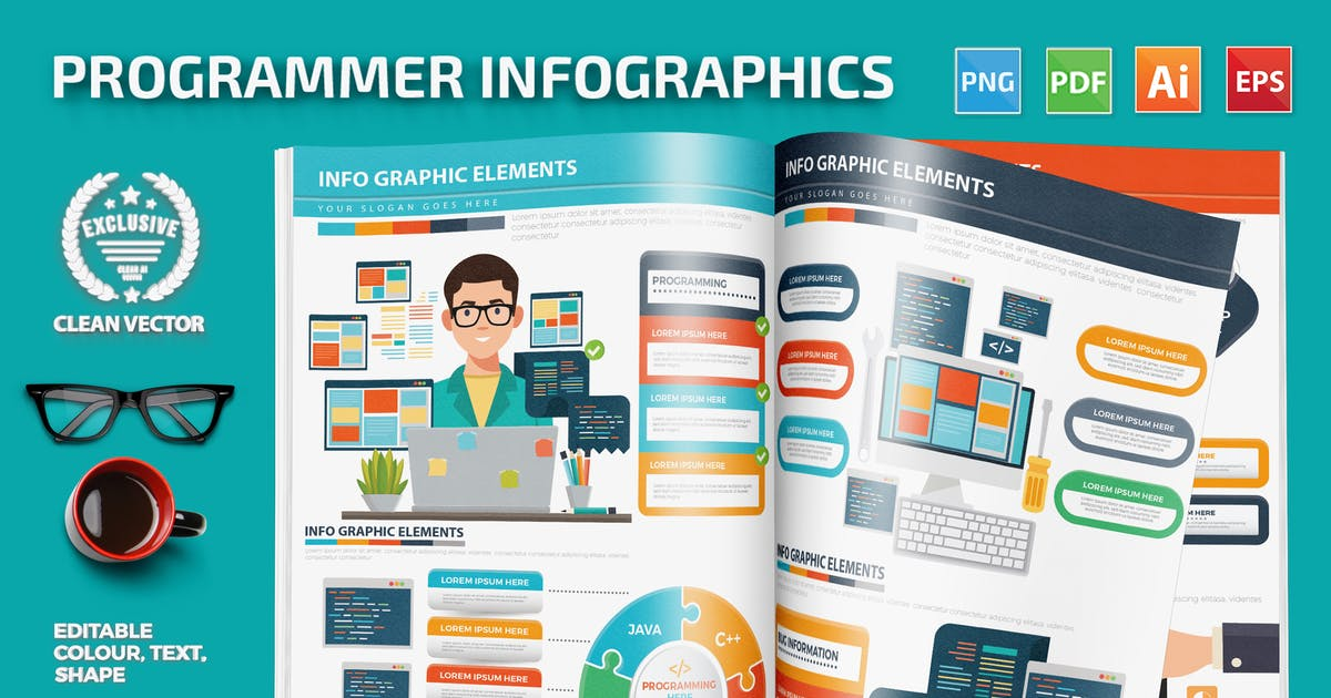 Download Programmer Infographics design by mamanamsai