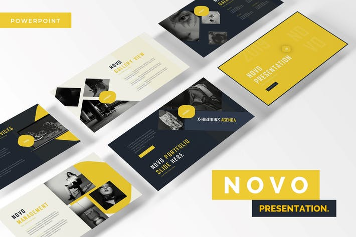 Thumbnail for Novo - Powerpoint Template