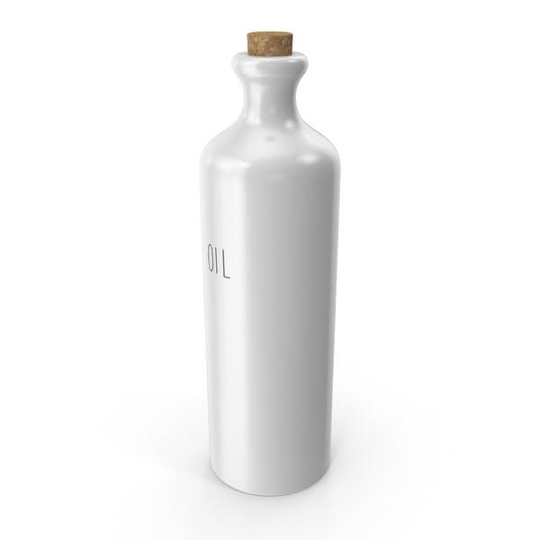 Керамическая бутылка масла