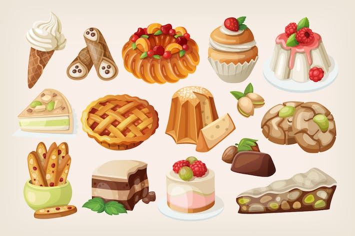 Thumbnail for Traditionelle italienische Desserts