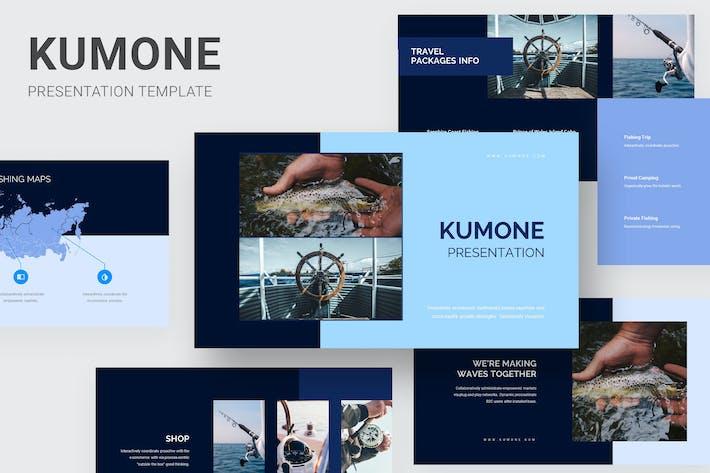 Thumbnail for Kumone - Fishing Club Keynote
