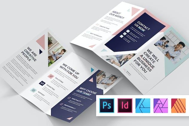 Brochure – Creative Agency Studio Tri-Fold