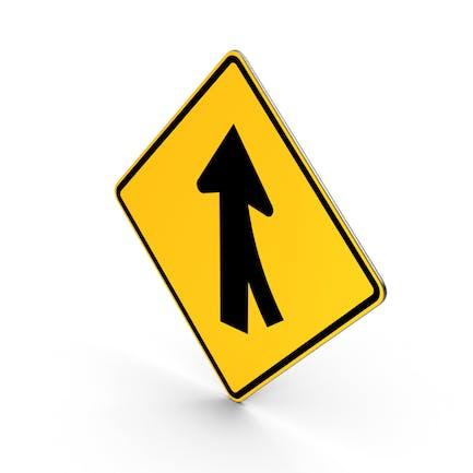 Verkehrszeichen Zusammenführen