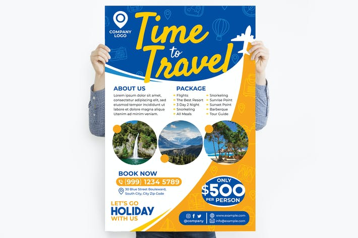Holiday Travel Poster #1
