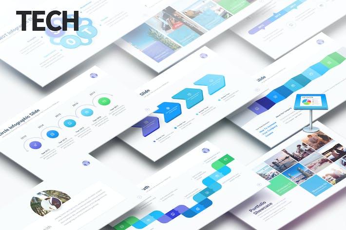 Cover Image For Tech - Multipurpose Keynote Presentation
