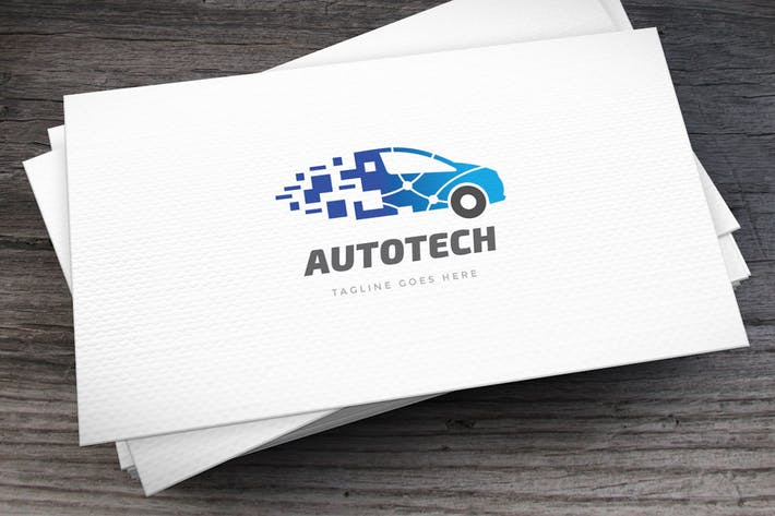 Thumbnail for Auto_Tech_Logo_Template