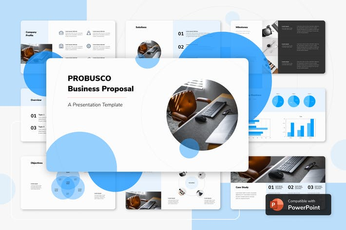 Thumbnail for PROBUSCO - Business PowerPoint Template