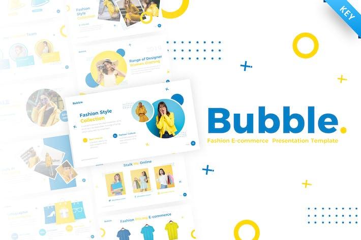 Thumbnail for Bubble Fashion Keynote Presentation Template