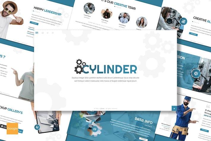 Thumbnail for Cylinder - Business Google Slides Template