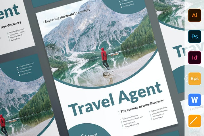 Thumbnail for Travel Agent Agency Poster